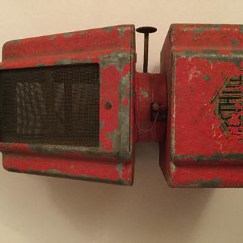 Paraffin lamp / heater