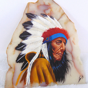 Looking For Help on A Way To Find Out Who The Artist is  - Native American