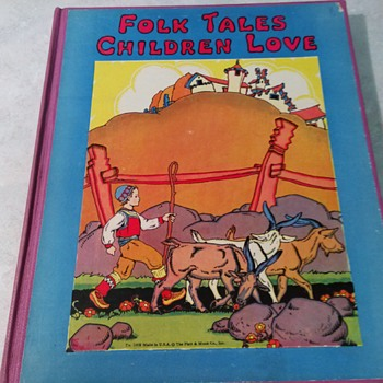 FOLK TALES CHILDREN LOVE 1932 - Books
