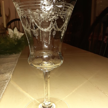 My great grandparents 50th anniversary glasses  - Glassware