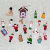 Miniature Painted Wood Ornaments