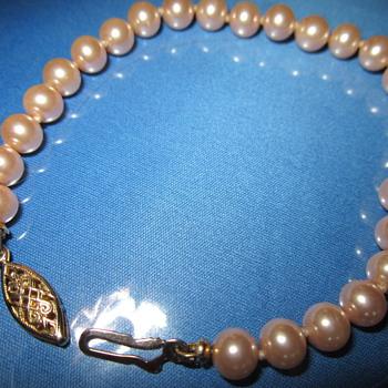 pearls  bracelet - Fine Jewelry