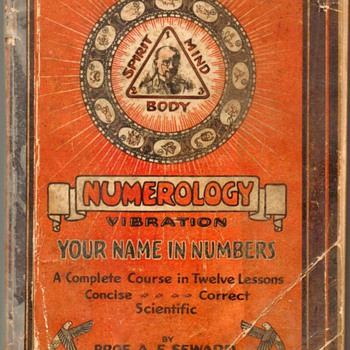 "1930 - ""Numerology Vibration"" - Books"