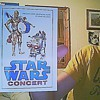 Can someone tell me if this is rare?, its a postcard from star wars concert
