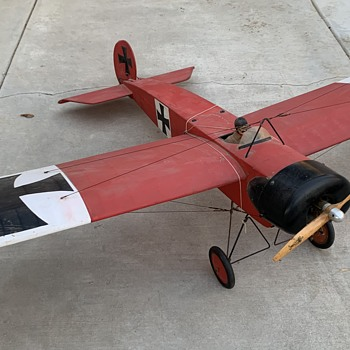 Red baron hobby plane - Toys
