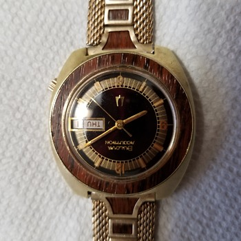 "My Bulova Accutron ""Woody"" ! - Wristwatches"