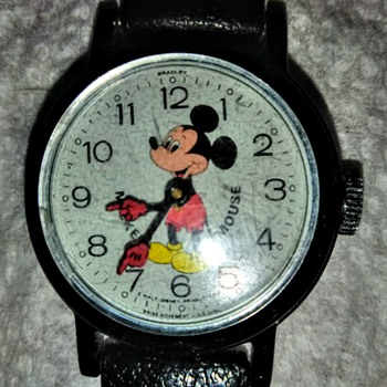My first watch.  1966 Bradley Mickey Mouse watch#23. - Wristwatches