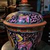 Bencharong Covered Jar - 19th c?