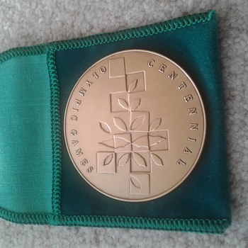 OLYMPIC GAMES participation medal - Sporting Goods