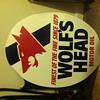 Wolf's Head Motor Oil Metal Sign