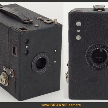 Portrait Brownie No.2 Model B - Cameras