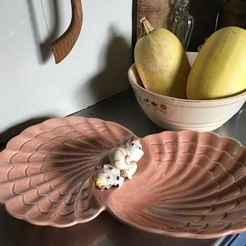 Sea Shell appetizer dish - Pottery