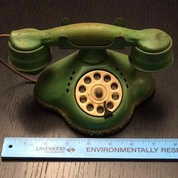Antique Toy Phone - Toys
