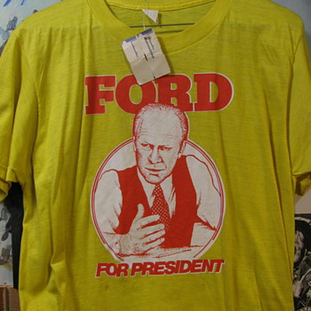 ford for president t-shirt from korvette's new with tags - Mens Clothing