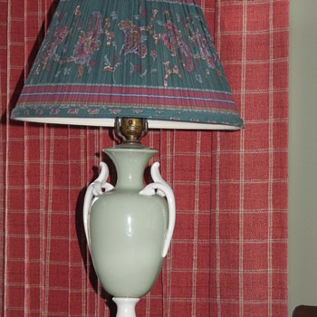 C and S New York vintage lamp. - Lamps