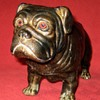 Small Bronze Bulldog Sculpture