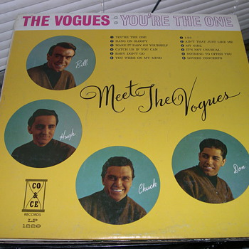THE VOGUES YOU'RE THE ONE CO & CE RECORD LABEL 1229