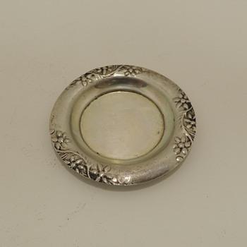 Miniature Dish - Israeli Silver - Silver