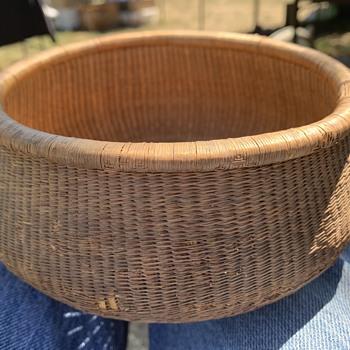 Indian basket - Furniture
