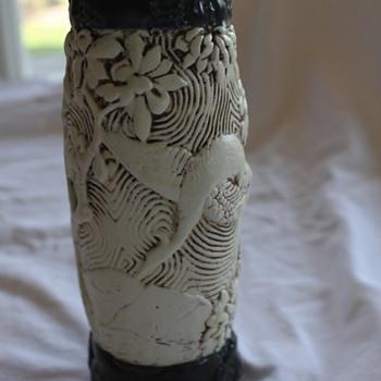Very Pretty Pottery Vase - Unknown Maker - Pottery