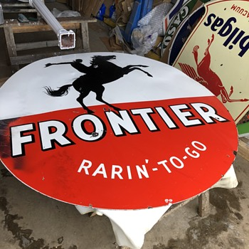 Frontier for Christmas - Signs