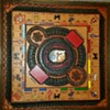 Vintage Monopoly Game Board Leather & Wood Hand-Painted Custom Made