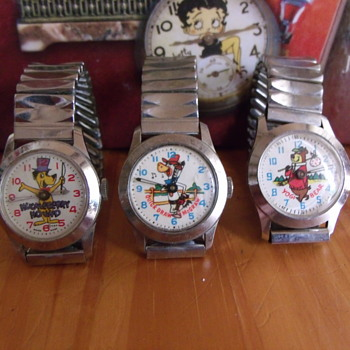 What Ever Happened to Saturday Morning Cartoons - Wristwatches
