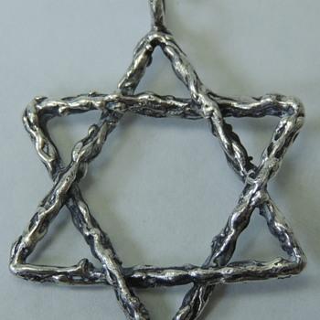 Star of David Pendant - Fine Jewelry