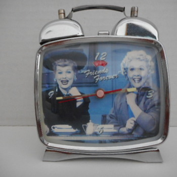 Lucy & Ethel Alarm - Clocks