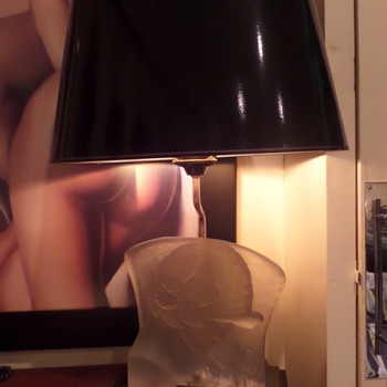 Art Deco table lamp. Say no more. - Art Deco