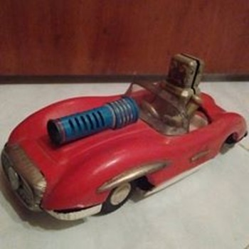 Japan Space Robot Patrol Car !!!!! 1950's/60's  - Toys