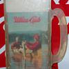 Utica Club Beer Mug Fisherman Sign