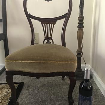 Short Legged Chair - Furniture