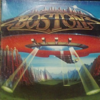 Boston....On 33 1/3 RPM Vinyl Format - Records