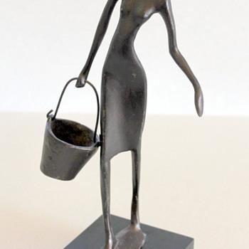 Bucket lady! - Fine Art