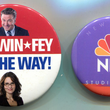 "Baldwin Fey ""campaign"", and NBC Tour Pins - Advertising"