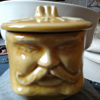 old head mustard pot!!  - Kitchen