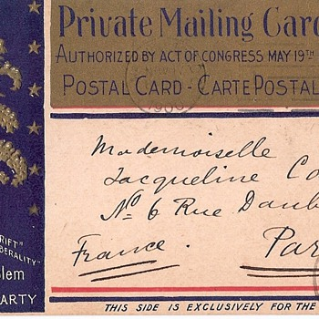 Politics - Election 1900 - Postcards