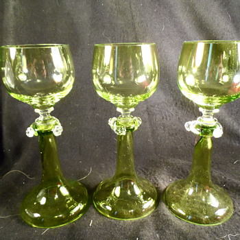 Moser  Roemers ? - Glassware