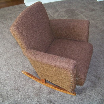 Child's Rocking Chair (Upholstered) - Furniture