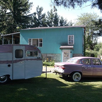 my 59 studebaker lark vi regal and 66 serro scotty camper glamper - Classic Cars