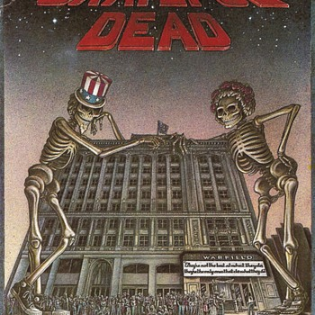 Postcard of Grateful Dead's 15-night run at the Warfield - Music Memorabilia