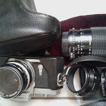 Vintage Nikon Nikkormat