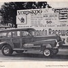 Jeff Courtie 1948 Olds Woodie Dragster