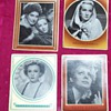 1930's Collector Cards:  Shirley Temple, Marlene Dietrich...