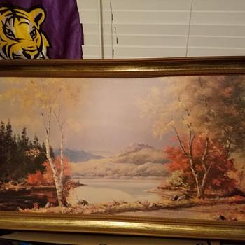 huge picture help me find info  - Fine Art