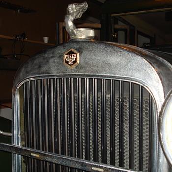 1928 essex flying man ornament/radiator cap
