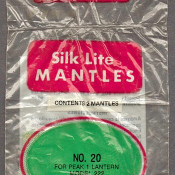 Coleman Canada Silk Lite Lantern Mantles - Lamps