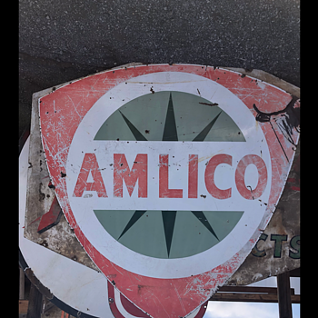 Amlico Gas Sign - Signs
