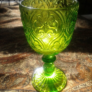 A Goodwill find - Glassware